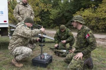 乌克兰工兵在 Ardent Defender-2018比赛中获胜