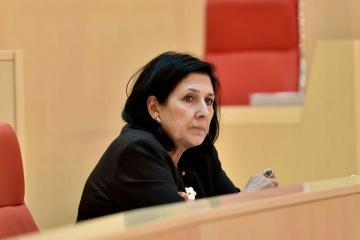 Georgiens Präsidentin warnt vor Ernennung Saakaschwilis zum Regierungsmitglied