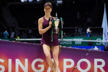 Svitolina remporte pour la première fois de sa carrière le tournoi WTA Finals (vidéo)