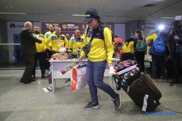 L'équipe nationale des Invictus Games est rentrée en Ukraine avec 20 médailles