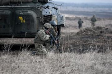 Waffenruhe im Donbass 7 Mal gebrochen, ein Soldat getötet