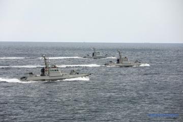 アヴァコフ内務相、アゾフ海におけるロシアの挑発行為の動画を公開
