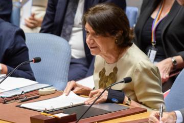 Ukraine : la Secrétaire générale adjointe aux affaires politiques de l'ONU prévient le Conseil de sécurité du risque de revers, malgré certains signes encourageants