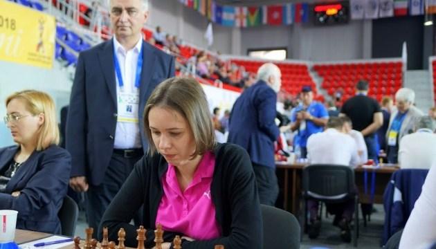 Всесвітня шахова Олімпіада: Ушеніна поступилися на... 144-у ході