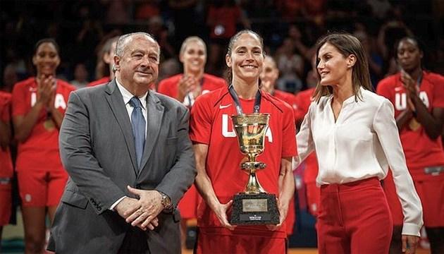 Женская сборная США по баскетболу стала победителем чемпионата мира