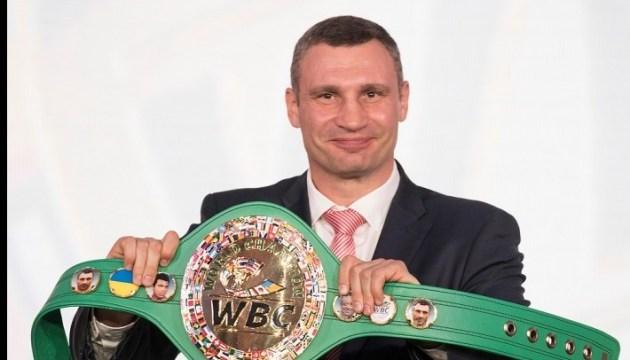 Бокс: на новом чемпионском поясе WBC появится флаг Украины