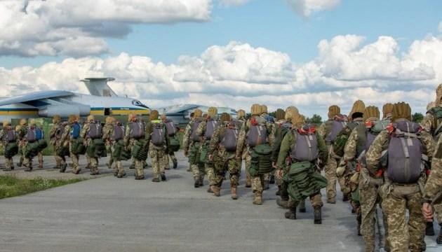 Более полутысячи десантников-резервистов прошли военные сборы