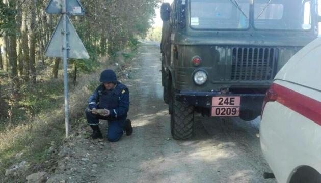 Возле КП на границе с Молдовой нашли мину времен Второй мировой