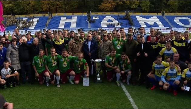 7 октября стартует финальный этап футбольной Лиги участников АТО