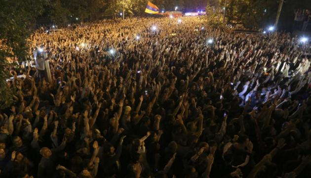 В Ереване - массовые протесты