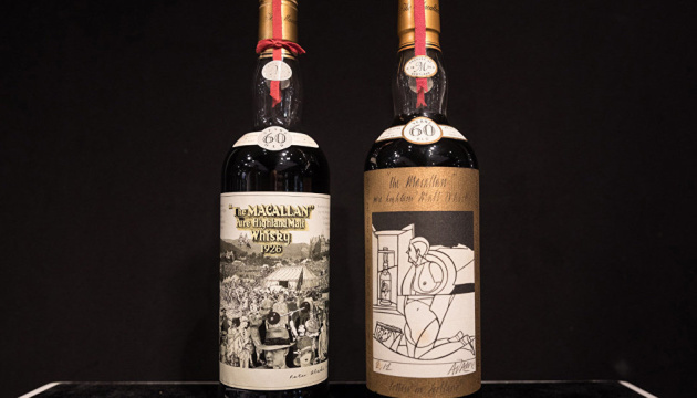 В Шотландии продали бутылку виски за рекордные $1,1 миллиона
