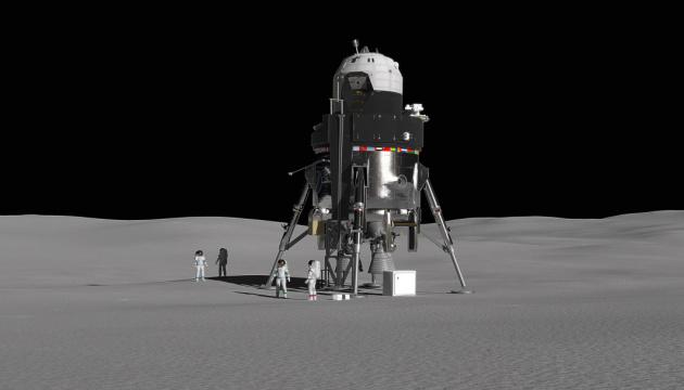 Lockheed Martin предложила проект трехэтажного лунного модуля