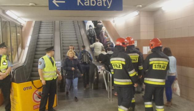 Авария эскалатора вызвала давку в варшавском метро