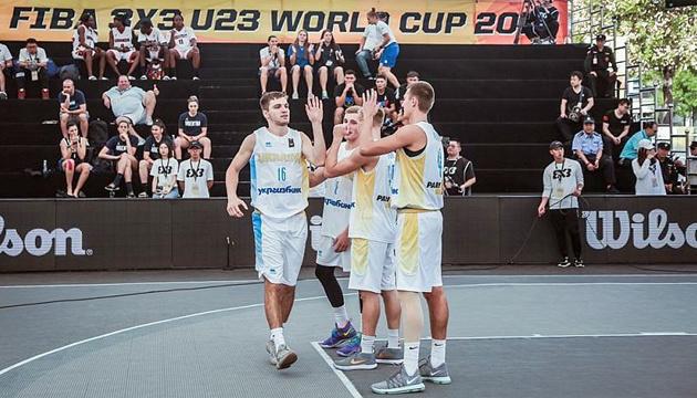 Баскетбол 3х3: збірна України U-23 виборола другу перемогу на чемпіонаті світу