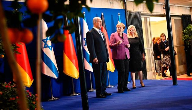 Меркель — Нетаньяху: Мы всегда будем нести ответственность за преступления Холокоста