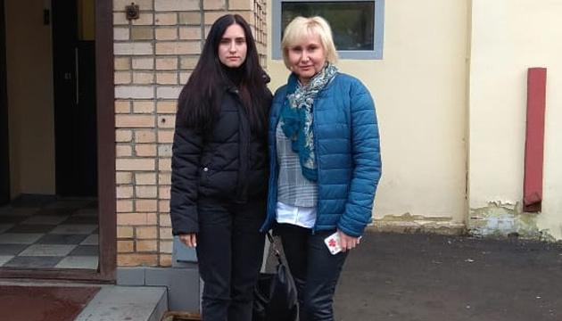 Дочь Сущенко рассказала о встрече с отцом в СИЗО