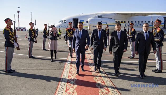 Гройсман приїхав у Молдову на саміт глав урядів країн ГУАМ