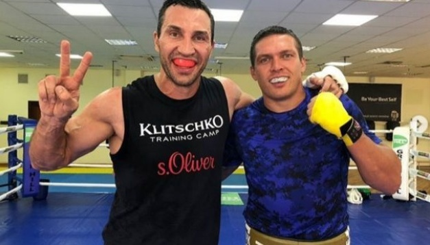 Владимир Кличко: Усик имеет шансы в супертяжелом дивизионе