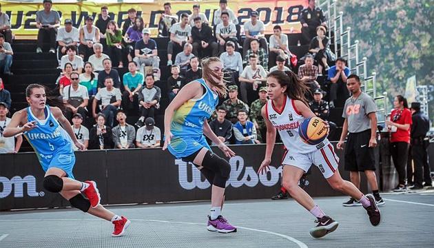 Баскетбол 3х3: женская сборная Украины U-23 прошла в плей-офф ЧМ-2018