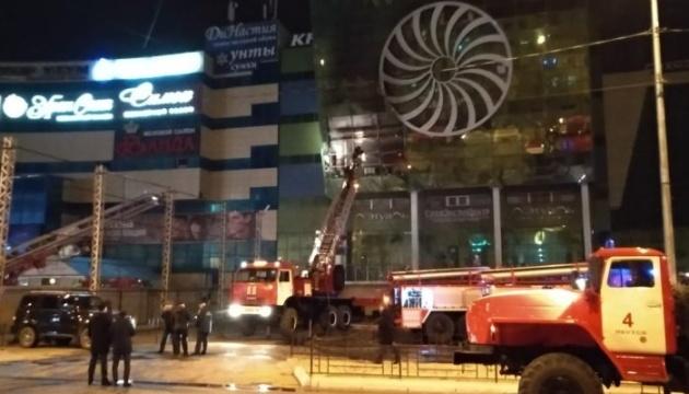 В Якутске горел крупный торговый центр