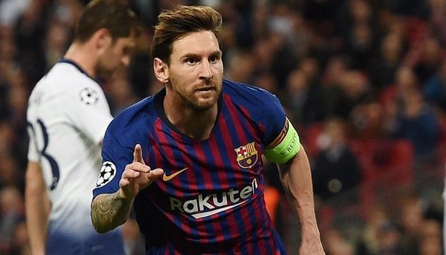 Мессі визнаний кращим гравцем 2 туру групового етапу Ліги чемпіонів УЄФА