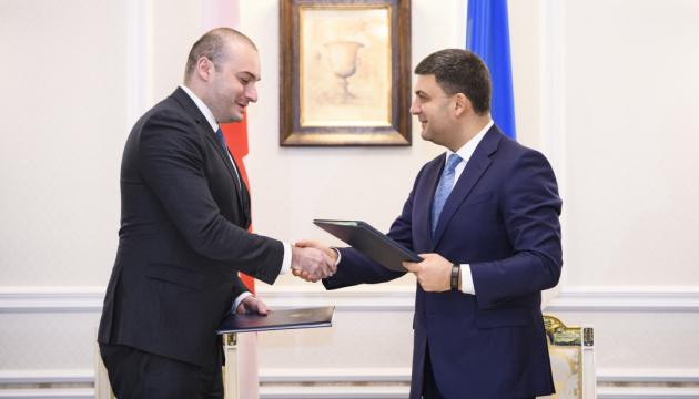 Ucrania y Georgia firman un Acuerdo sobre Supresión de Visados