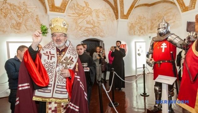 Посол Литви відкрив у Мукачівському замку кімнату князя Корятовича