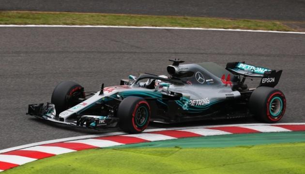 Формула-1: Гемілтон виграв кваліфікацію Гран-прі Японії