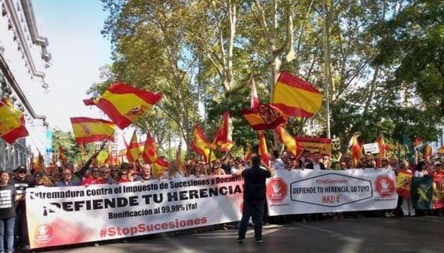 У Мадриді тисячі осіб вийшли на антиурядовий протест