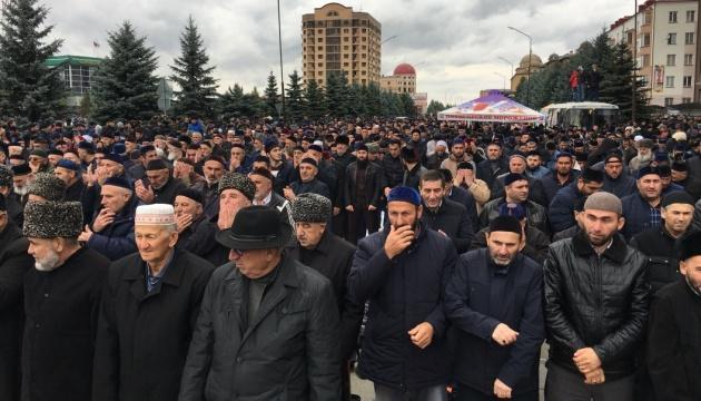 В столицу Ингушетии стягивают силовиков из-за акции против передачи земель Чечне