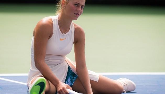Талановита українська тенісистка Марта Костюк зробила паузу у виступах