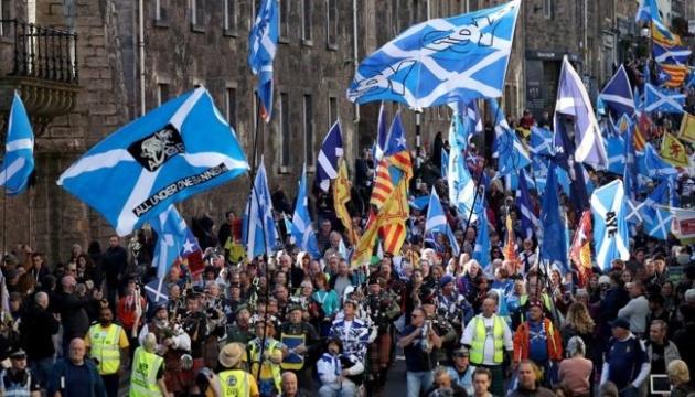 У Шотландії пройшов багатотисячний марш за незалежність