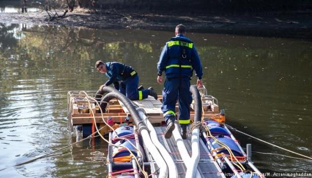 У Німеччині осушують озеро, щоб розкрити вбивство
