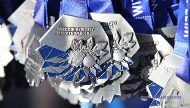 Международный марафон стартовал на столичном Крещатике