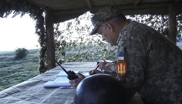 На Львівщині відбулися тактичні навчання з бойовою стрільбою