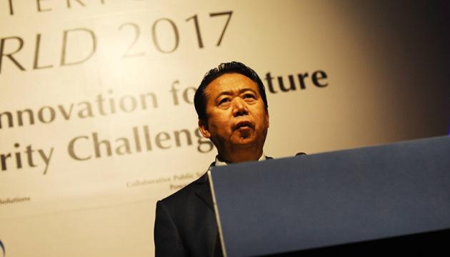 Китай підтвердив арешт глави Інтерполу