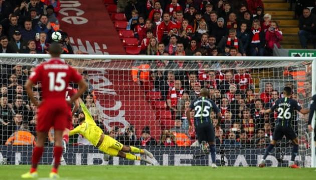 АПЛ: «Ман Сіті» і «Ліверпуль» м'ячів не забили