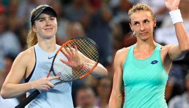 Украинские теннисистки Свитолина и Цуренко сохранили позиции в рейтинге WTA