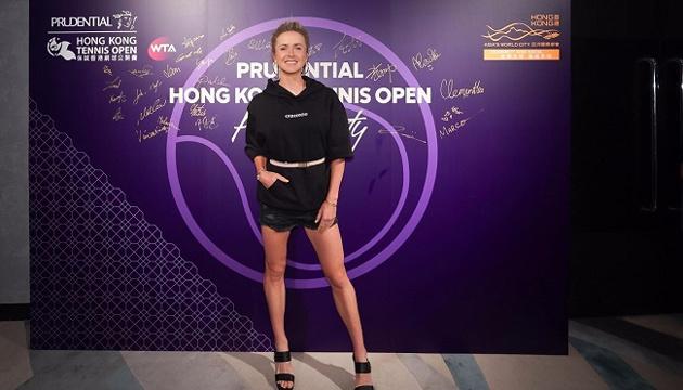 Теннис: Свитолина сыграла в настольный теннис перед стартом турнира WTA в Гонконге