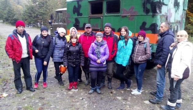 Рятувальники відшукали заблукалих на Говерлі туристів