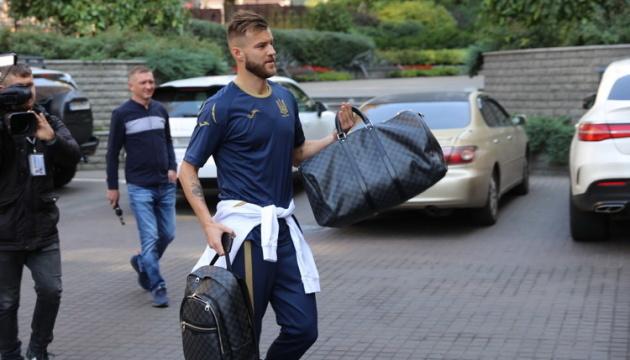Національна збірна України з футболу почала збір перед іграми з Італією та Чехією