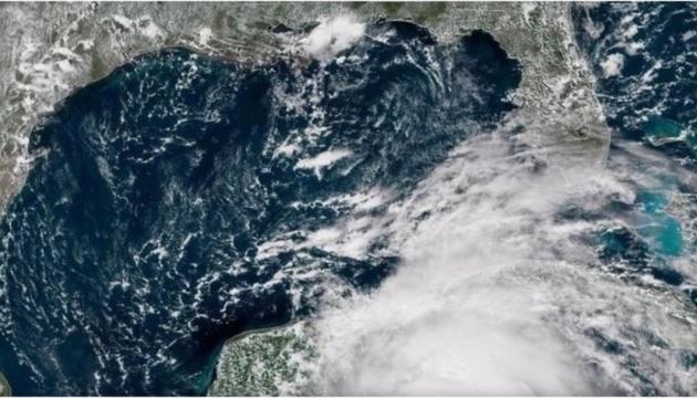 У США шторм