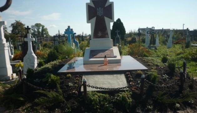 На Львівщині встановили пам'ятний хрест загиблим воїнам Української гальцької армії