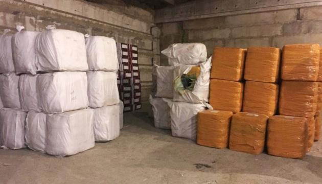 В порту Одессы пограничники изъяли 30 тонн контрабандного одежды