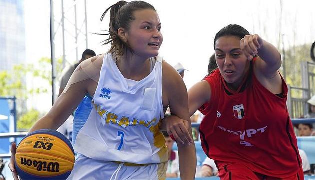 Юнацька Олімпіада: Ляшко очолила рейтинг результативності з баскетболу 3х3