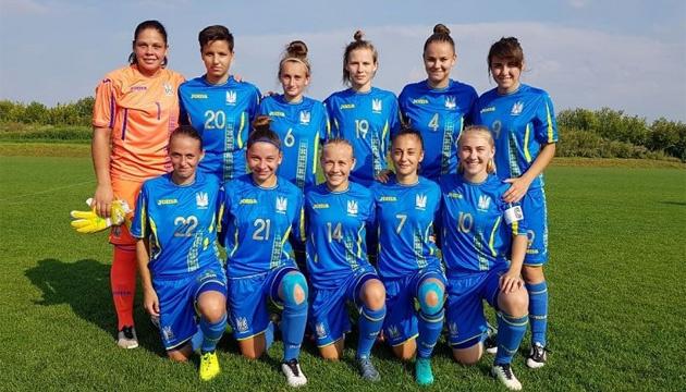 Футбол: жіноча збірна України WU-19 вийшла в еліт-раунд відбору Євро-2019