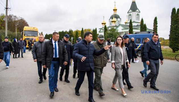 Эвакуированные села на Черниговщине будут усиленно охранять от мародеров