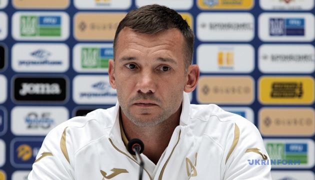 Шевченко: Ярмоленко отправляется со сборной, но против Италии не сыграет