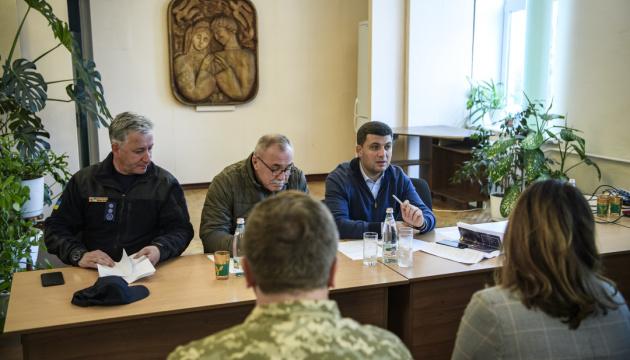 Гройсман — про контроль ситуації на Чернігівщині: Головне, аби ніхто не загинув