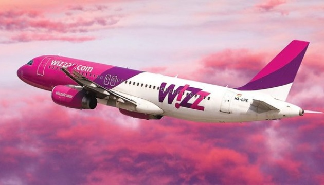 Wizz Air reports increase in passenger numbers on Ukrainian routes by 145%